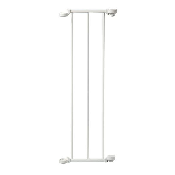 9 in. Extension For Configure Gate in White