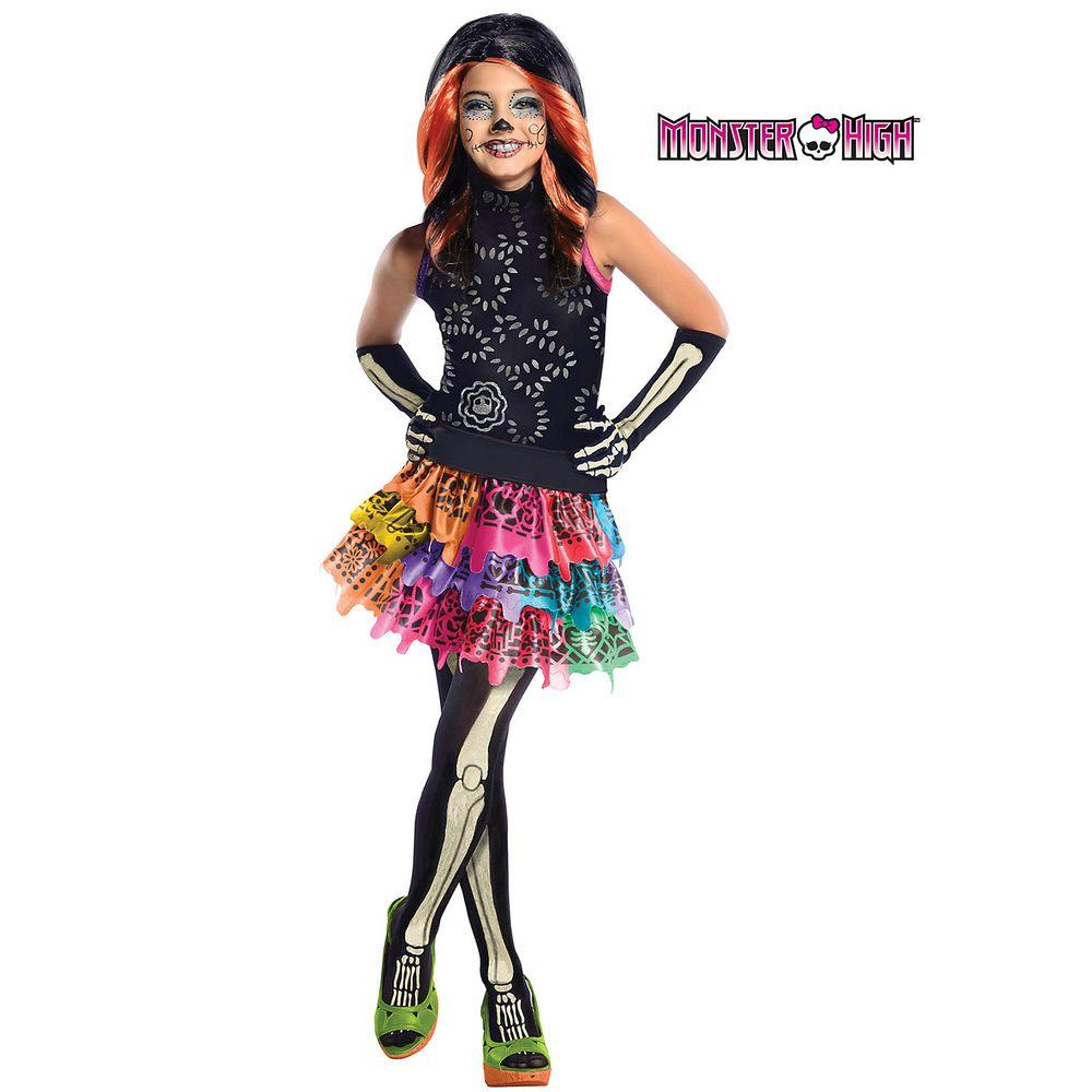 rubie's costumes girls skelita calaveras monster high costume