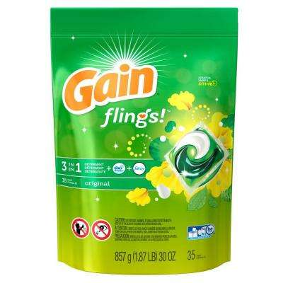 Flings Original Scent Laundry Detergent (35-Count)