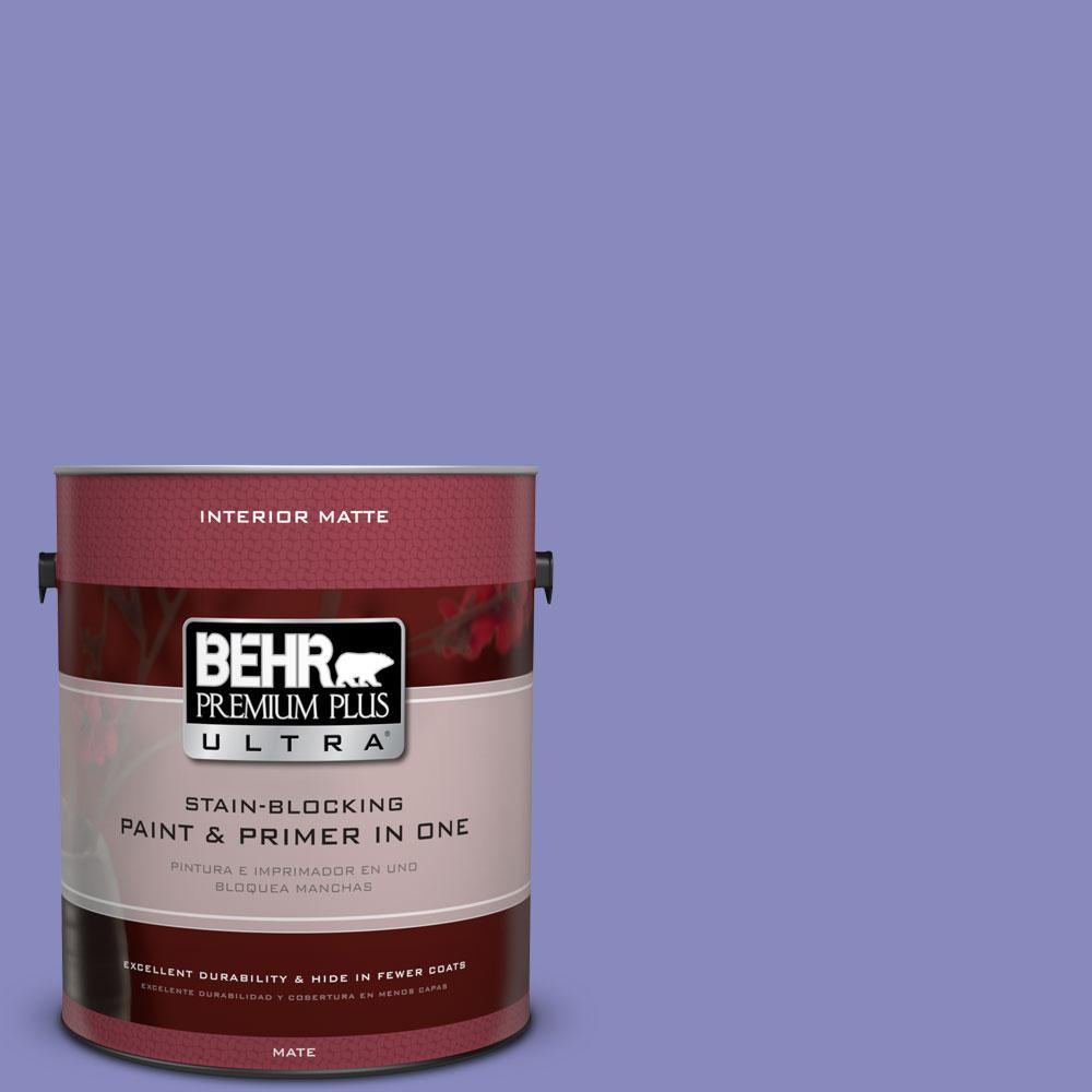 1 gal. #620B-5 Pristine Petal Flat/Matte Interior Paint