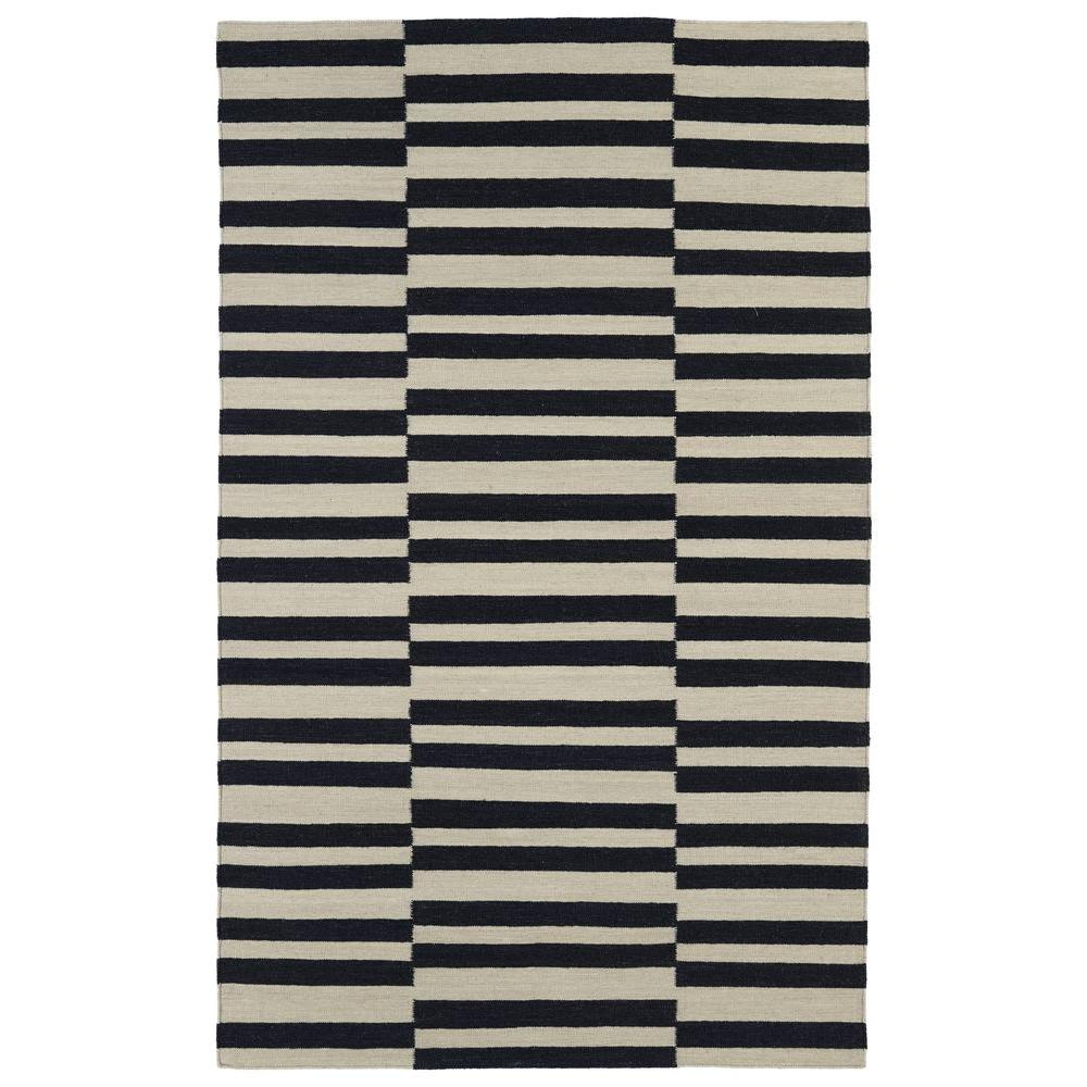 Kaleen Nomad Black 2 ft. x 3 ft. Area Rug