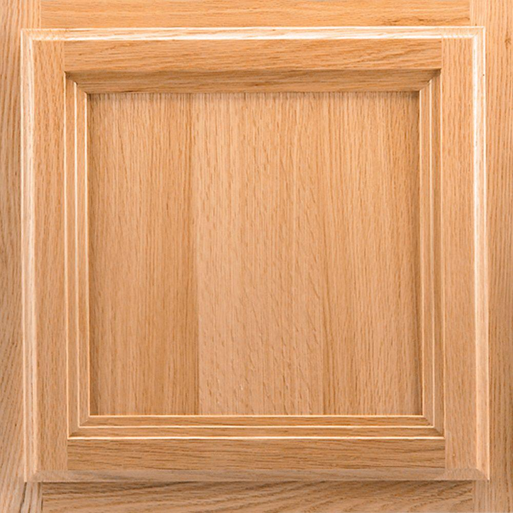 American Woodmark 13x12-7/8 in. Cabinet Door Sample in Ashland Oak Natural-DISCONTINUED