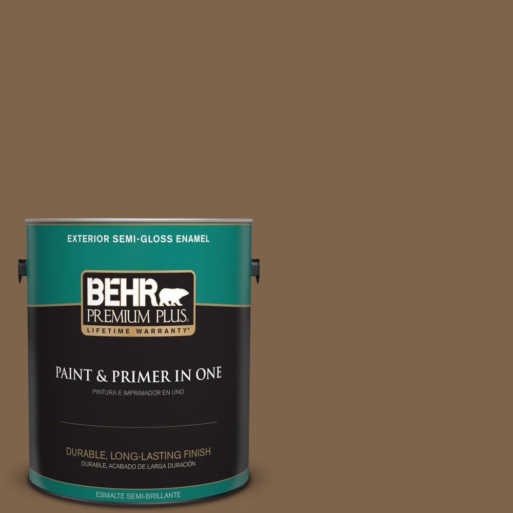 1 gal. #PPU4-19 Arts and Crafts Semi-Gloss Enamel Exterior Paint