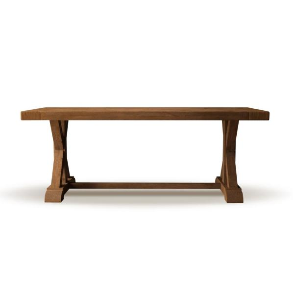 Urban Woodcraft 98 in. Antique Pine Madera Dining Table 500H.98DT.XB.AP