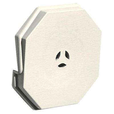 6.625 in. x 6.625 in. #034 Parchment Surface Mounting Block