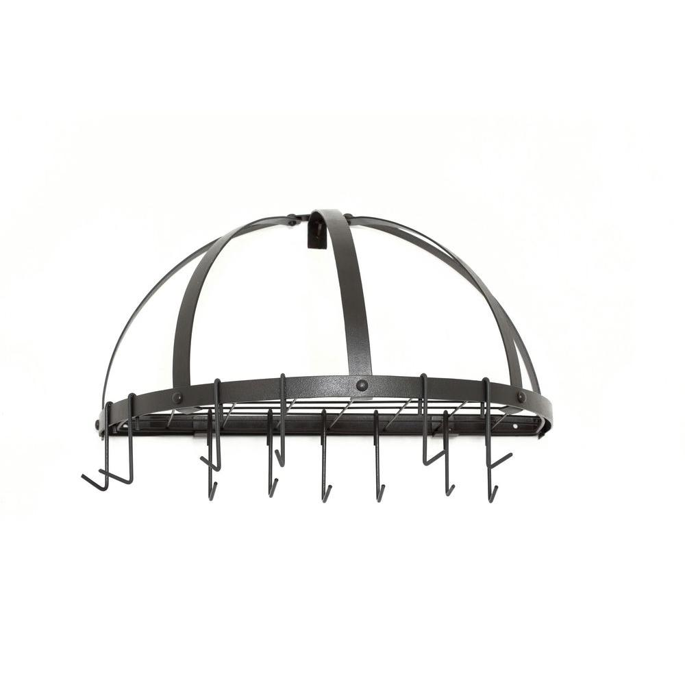 12 in. x 11 in. x 22 in. Graphite Pot Rack