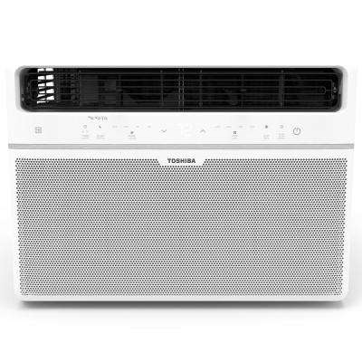 18,000 BTU 230-Volt Touch Control Window Air Conditioner with Remote and ENERGY STAR in White