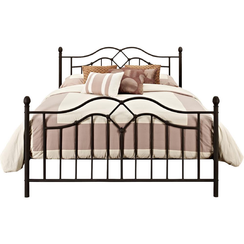 Tatiana Bronze Full Bed Frame
