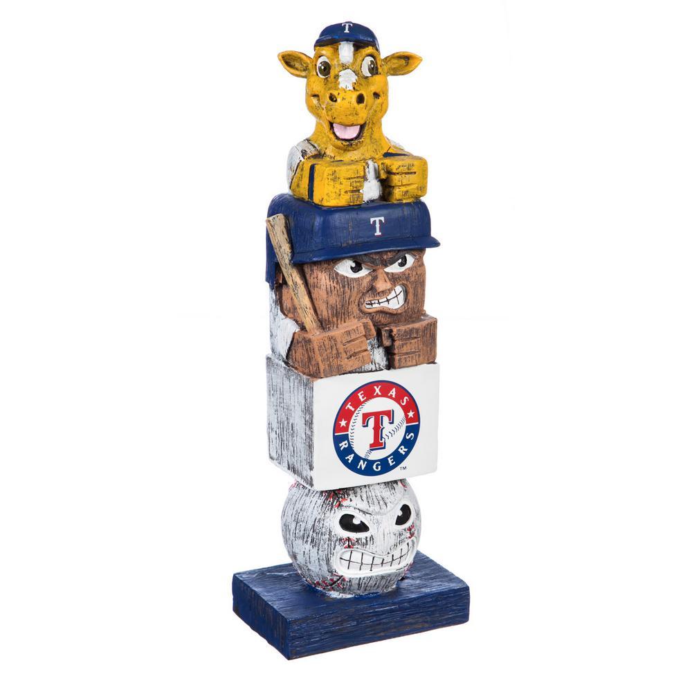 Texas Rangers Tiki Totem Garden Statue