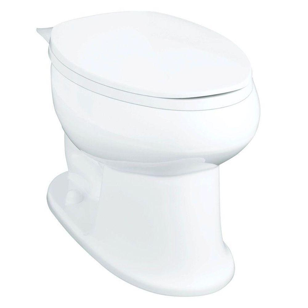 Stinson Elongated Toilet Bowl Only in White