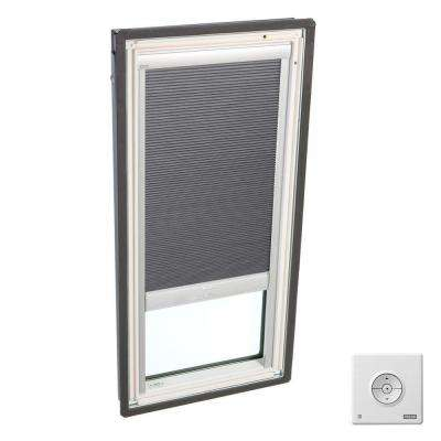 Grey Solar Powered Room Darkening Skylight Blinds for FS S06 and FSR S06 Models