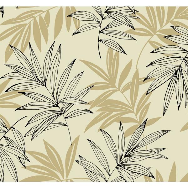 Seabrook Designs Tropical Leaf Paper Strippable Wallpaper Covers 60 75 Sq Ft Sy40510 The Home Depot Shop the top 25 most popular 1 at the best prices! tropical leaf paper strippable wallpaper covers 60 75 sq ft
