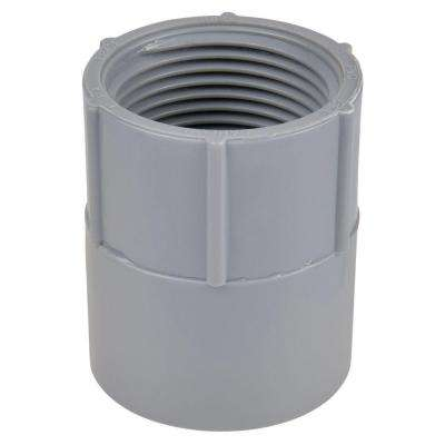 1-1/4 in. Non-Metallic Female Adapter (Case of 6)