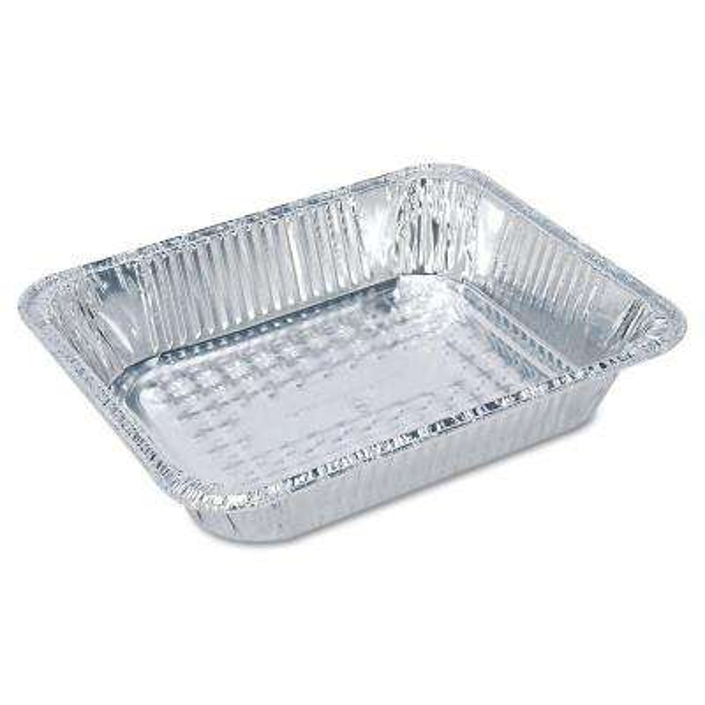 Steam Table Aluminum Pan, Half-Size, 2-1/2 in. Deep, 100 Per Case