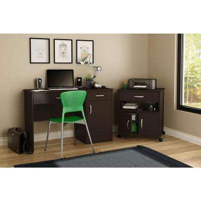 Axess Chocolate File Cabinet
