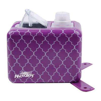 Compact Cool Mist Humidifier Travel Size for Small Rooms Up To 150 sq. ft.