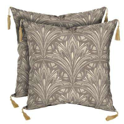 Tribal Elements Lumbar Outdoor Throw Pillow (2-Pack)