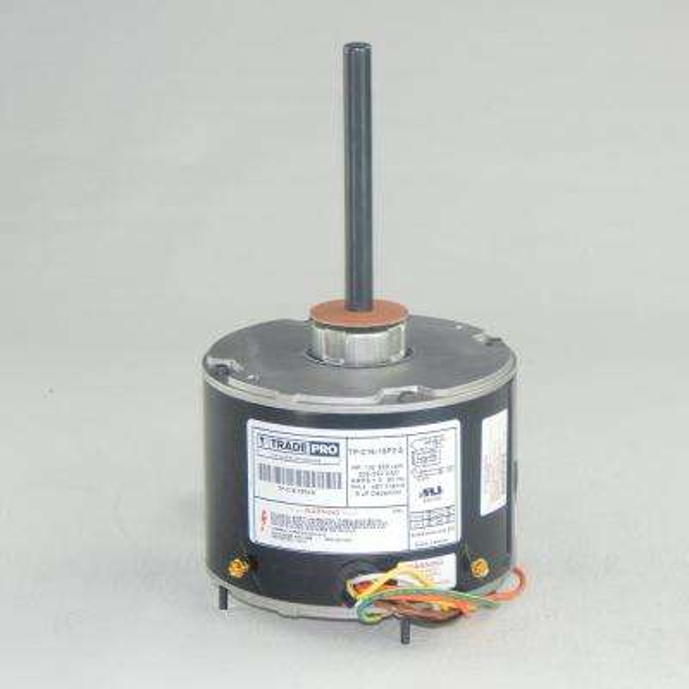 Replacement Condenser Fan Motor 1/6 HP Single Speed 825 RPM 230-Volt