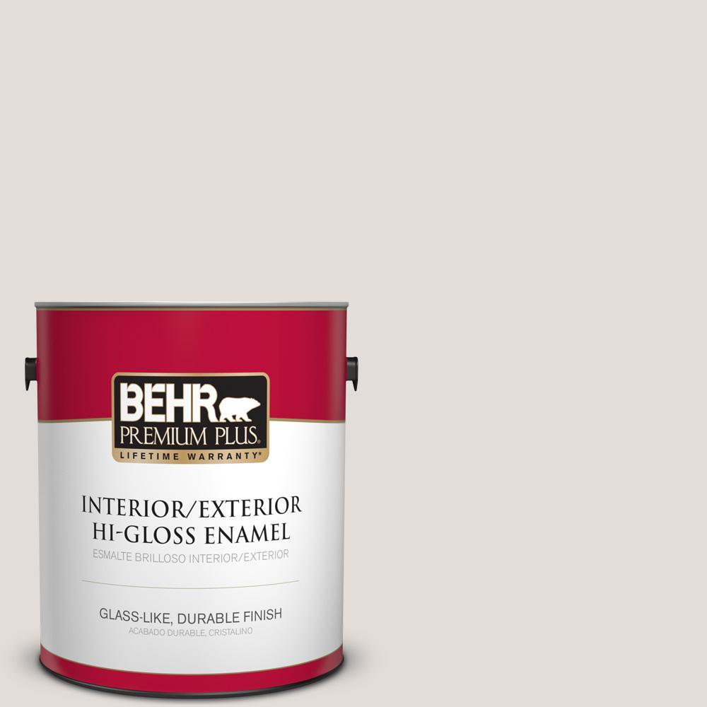 1 gal. #PPU17-06 Crushed Peony Hi-Gloss Enamel Interior/Exterior Paint