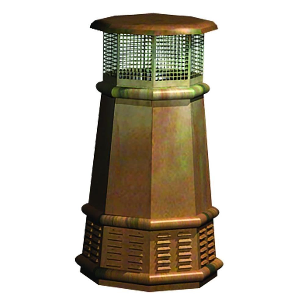 Queen Copper Chimney Pot