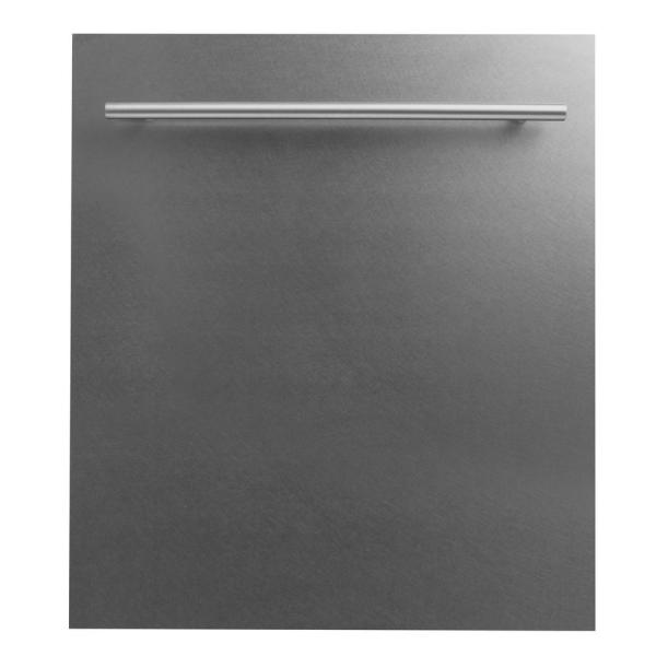 24 in. Top Control Dishwasher in DuraSnow® Finished Stainless Steel with Stainless Steel Tub and Modern Style Handle