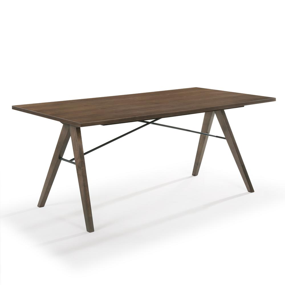 Poly and Bark York Dining Table, Brown was $668.52 now $401.11 (40.0% off)