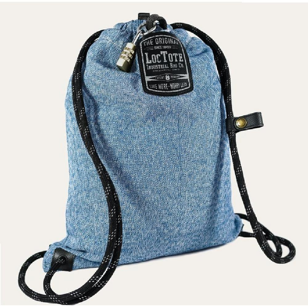 Loctote Flak Sack Sport 18 in. Blue Backpack with Theft Proof Features.  Write a review 1376474a1031f