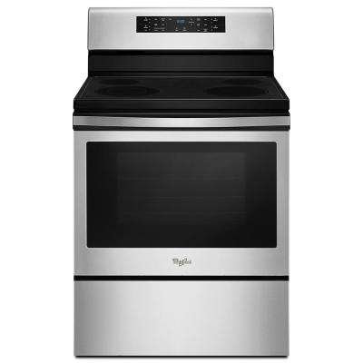 30 in. 5.3 cu. ft. Electric Range with Convection in Stainless Steel