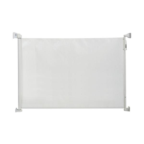 33.5 in. H Wall Mounted Gate Retractable Safeway Wall Mounted Gate in White