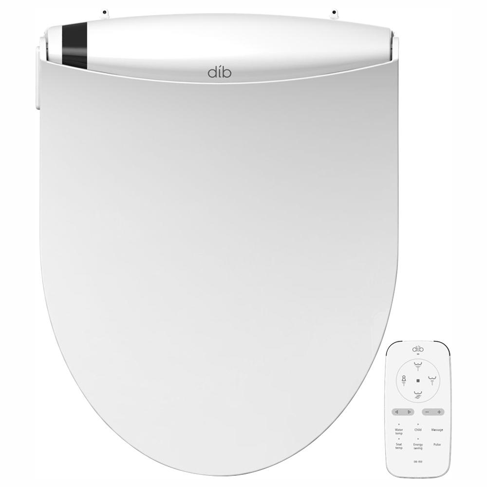Biobidet Dib Special Edition Electrical Bidet Seat For Round Toilet In White Dib 850r The Home Depot
