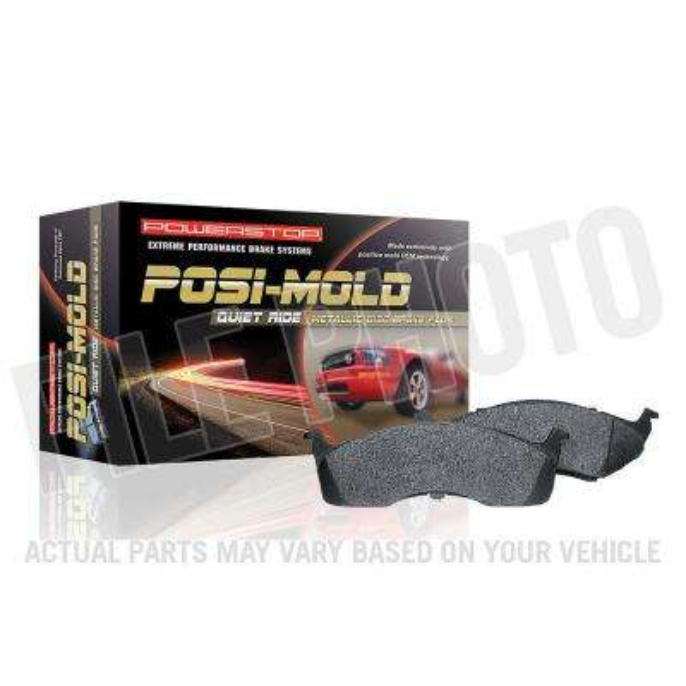 Front Posi-Mold Carbon Matrix Metallic Disc Brake Pad fits 2009-2014 Volkswagen Routan