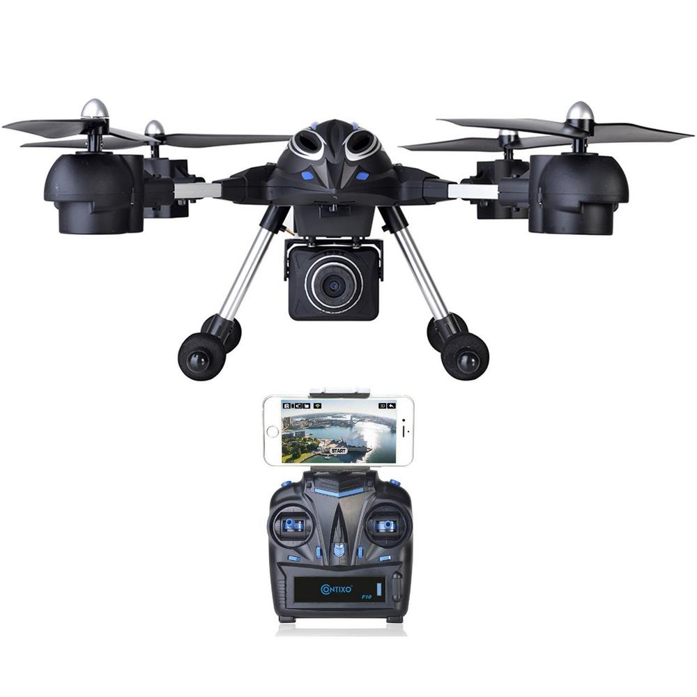 F10++ Quadcopter Drone with HD/Wi-Fi Camera