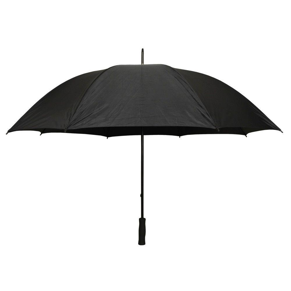 Firm Grip 5 ft. Golf Umbrella in All Black