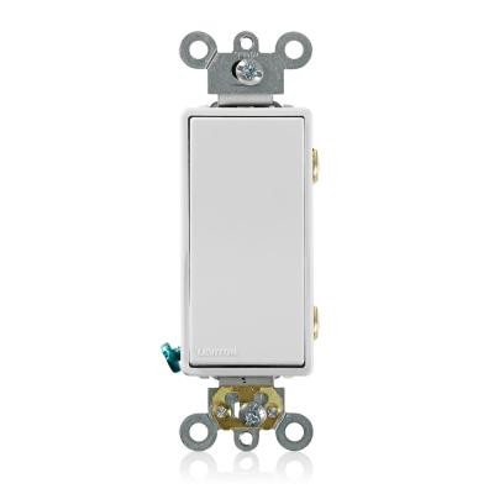 Decora Plus 20 Amp 3-Way Switch, White