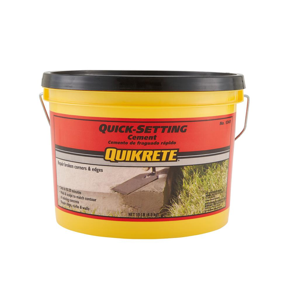 Quikrete 10 Lb Quick Setting Cement Concrete Mix 124011