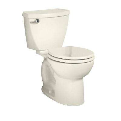 Cadet 3 Powerwash Tall Height 2-piece 1.28 GPF Single Flush Round Toilet in Linen, Seat Not Included