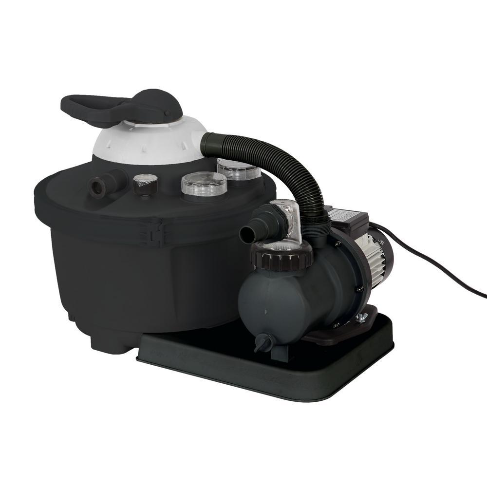 FlowXtreme Above Ground Pool 35 lb. Sand Filter System - NE4487
