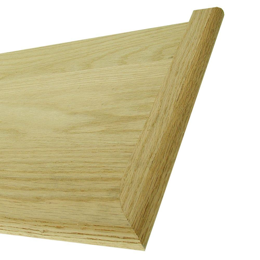 Charmant 48 In. X 11 1/2 In. Unfinished Red Oak Miter