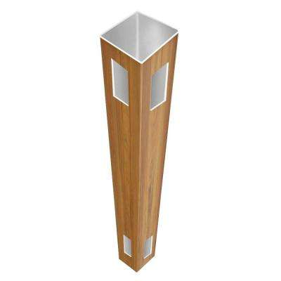 5 in. x 5 in. x 8-1/2 ft. Cypress Vinyl Fence Corner Post