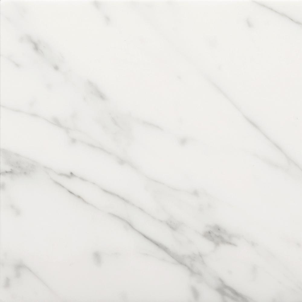 Emser Bianco Gioia 12 In X 12 In Marble Floor And Wall