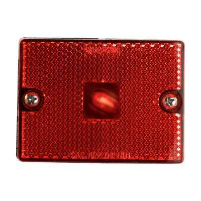 Clearance 2-3/4 in. Marker Lamp Red with Reflex