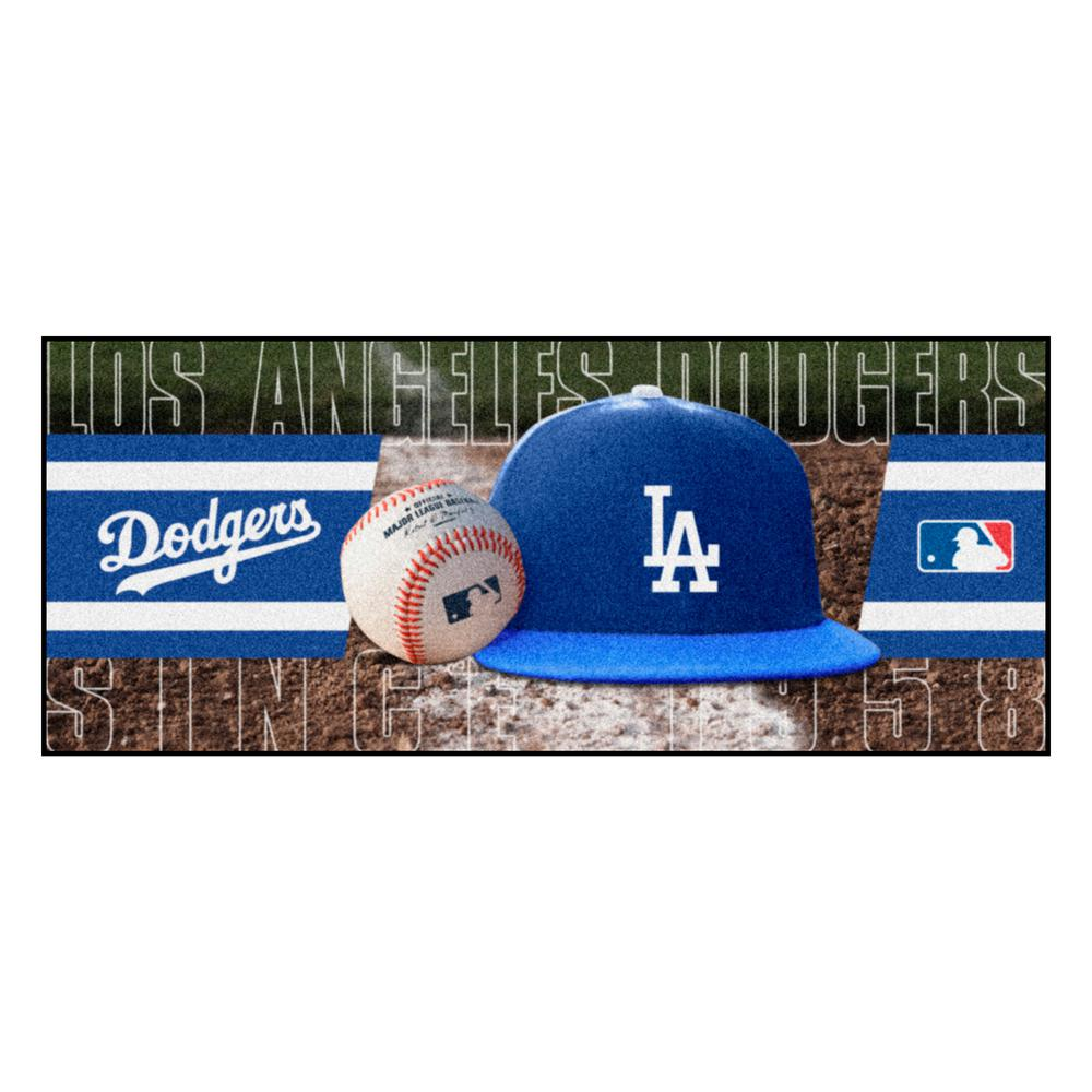 Los Angeles Dodgers 3 ft. x 6 ft. Baseball Runner Rug