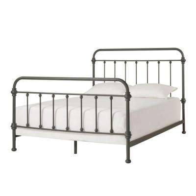 Calabria Grey King Bed Frame