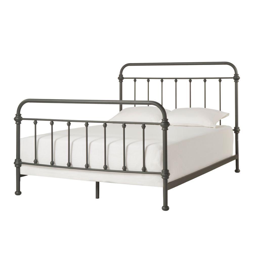 Calabria Grey Queen Bed Frame