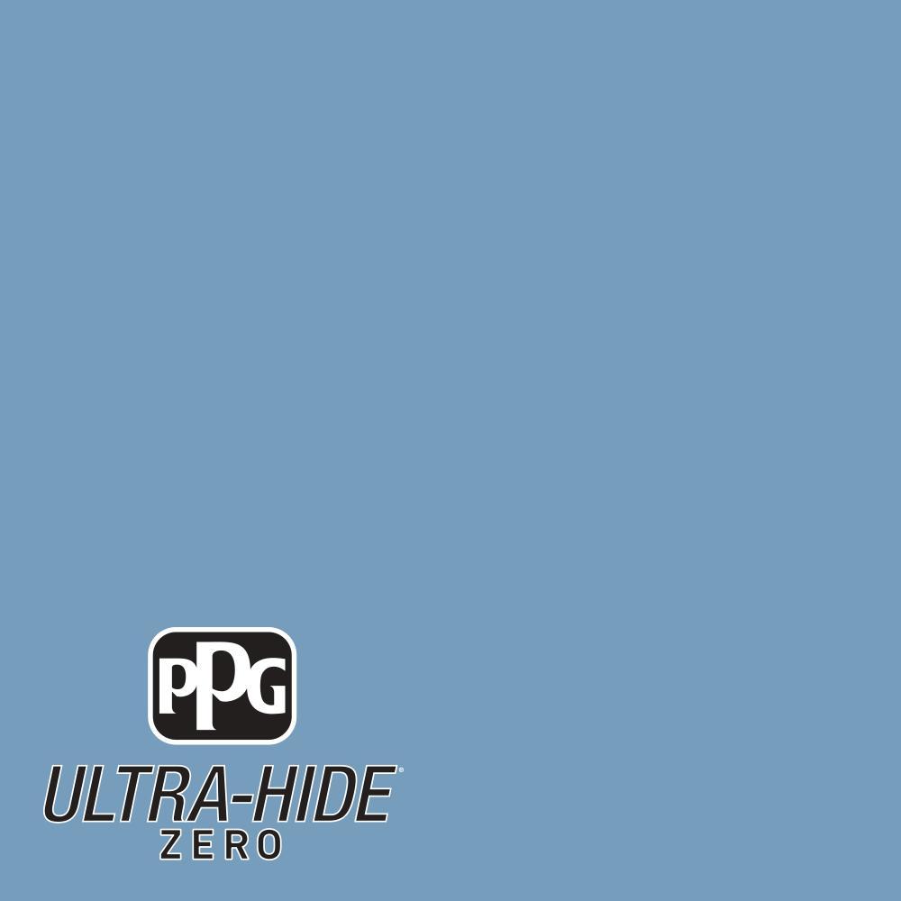 Hdpb59d Ultra Hide Zero Secret Cove Blue Eggshell Interior Paint