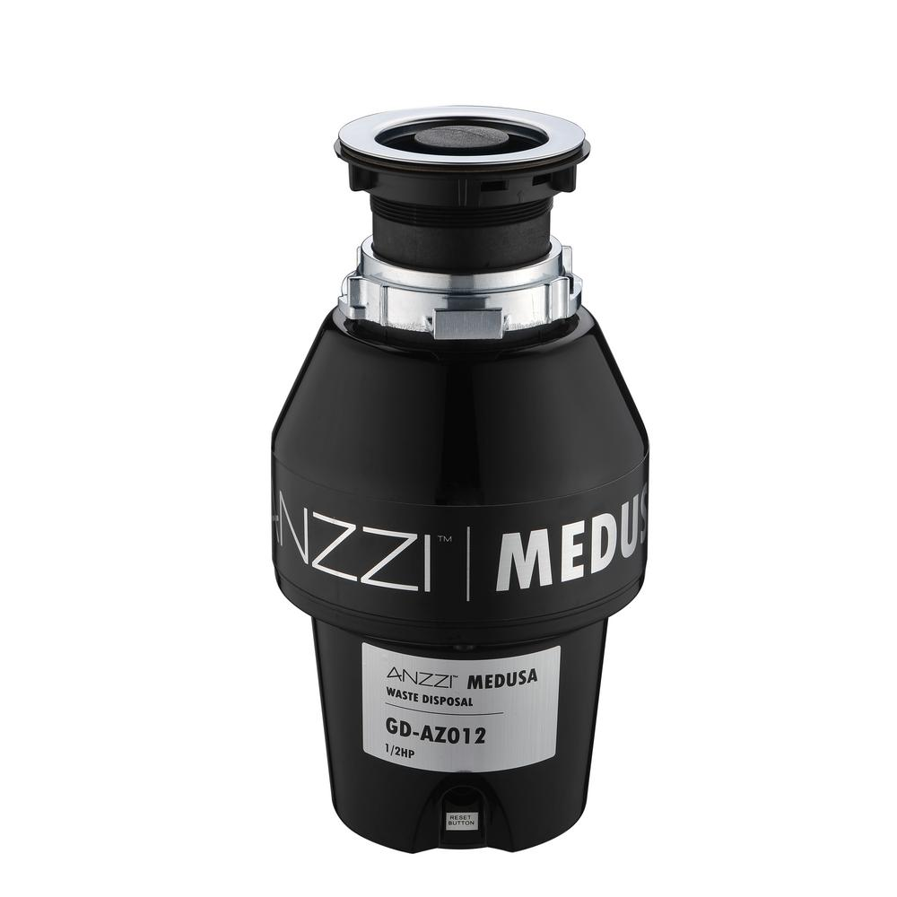 Anzzi Medusa Series 1 2 Hp Continuous Feed Garbage Disposal Gd Az012 Proper Wiring Of As Well Badger