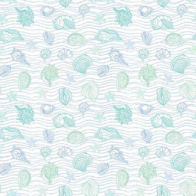 Grip Prints Seaside Teal Shelf and Drawer Liner (Set of 4)