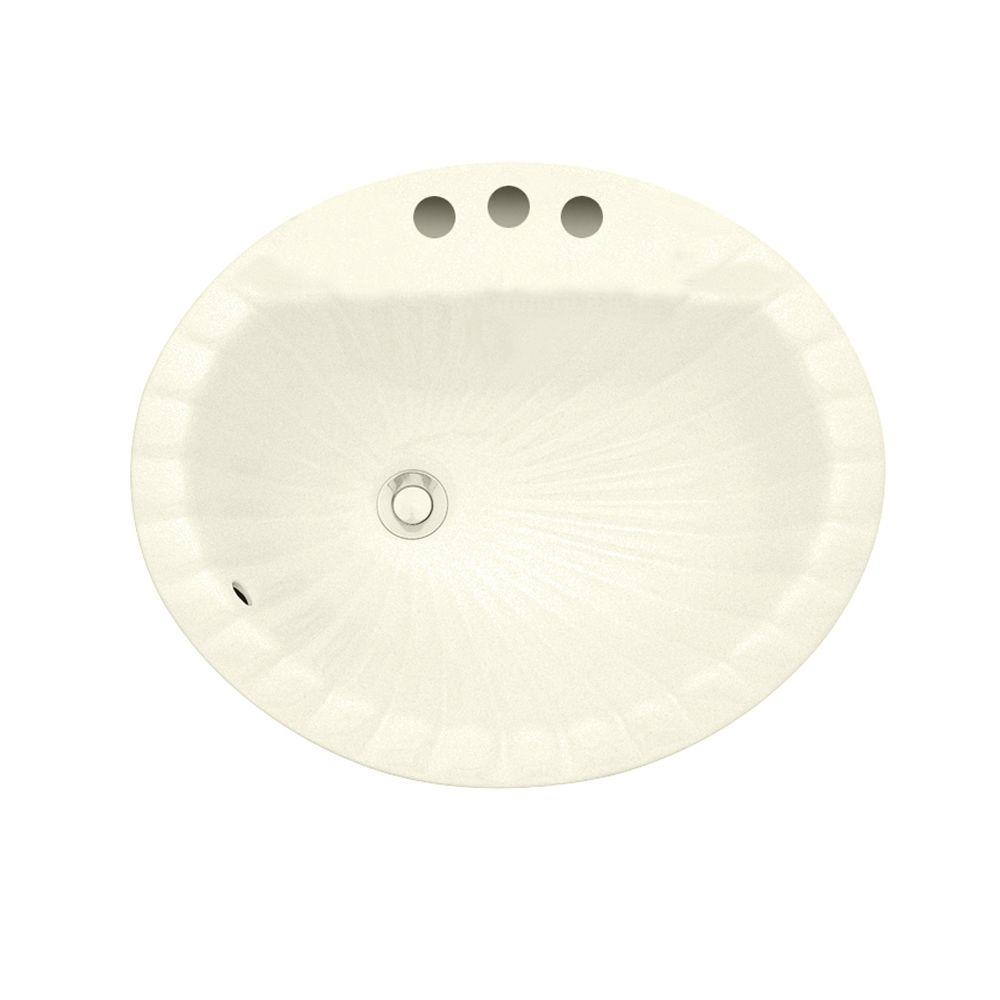Porcher Cholla Countertop Bathroom Sink in Bone