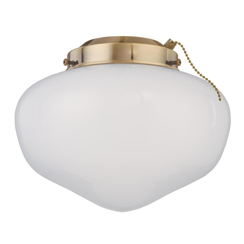 Westinghouse 1-Light LED Schoolhouse Ceiling Fan Light Kit