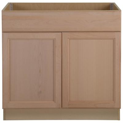 Easthaven Unfinished Base Cabinets - Kitchen - The Home Depot